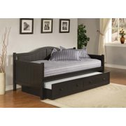 Hillsdale Furniture Staci Daybed with Trundle, Black