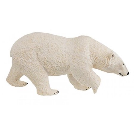 Safari Ltd Wildlife Wonders - Polar Bear - Realistic Hand Painted Toy Figurine Model - Quality Construction From Safe and BPA Free Materials - Made To-Scale - For Ages 3 and