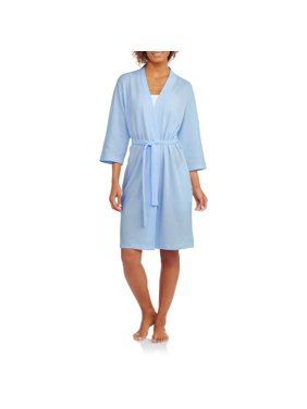 2fdfc42ca7 Product Image Women s and Women s Plus Light Weight Waffle Sleep Robe
