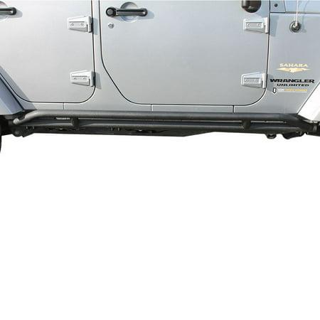 Paramount Automotive 51-0323 Tubular Rock Slider Fits 07-16 Wrangler (JK) (Rock Sliders Jk)
