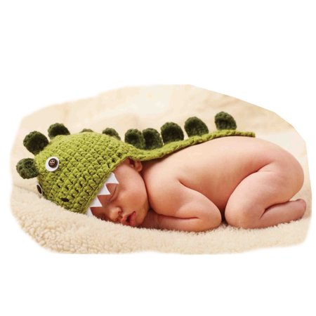 Halloween Baby Photo Prop Boys Dinosaur Hat Portrait Gift Item 0-6 months](Halloween Baby Portrait Ideas)