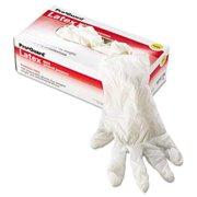 Generations Consumer 8971L Latex Gloves, Powder-Free, Natural White, Large, 1000/Carton