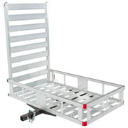 Silver Spring Economy Hitch Mounted Mobility Scooter Carrier Rack with Ramp