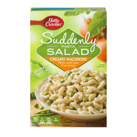 (5 Pack) Suddenly Salad Creamy Macaroni Pasta Salad Dry Meals 6.5 Oz (Spooky Halloween Pasta Salad)