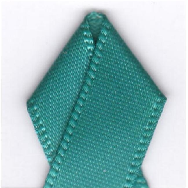 Papilion R07430212034620YD .5 in. Single-Face Satin Ribbon 20 Yards - Jade
