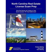 North Carolina Real Estate License Exam Prep : All-In-One Review and Testing to Pass North Carolina's Psi Real Estate Exam