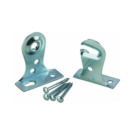 Newell 12821 Outside Mount Window Shade Brackets, 1 Pair, N/A By Newell Rubbermaid Ship from US