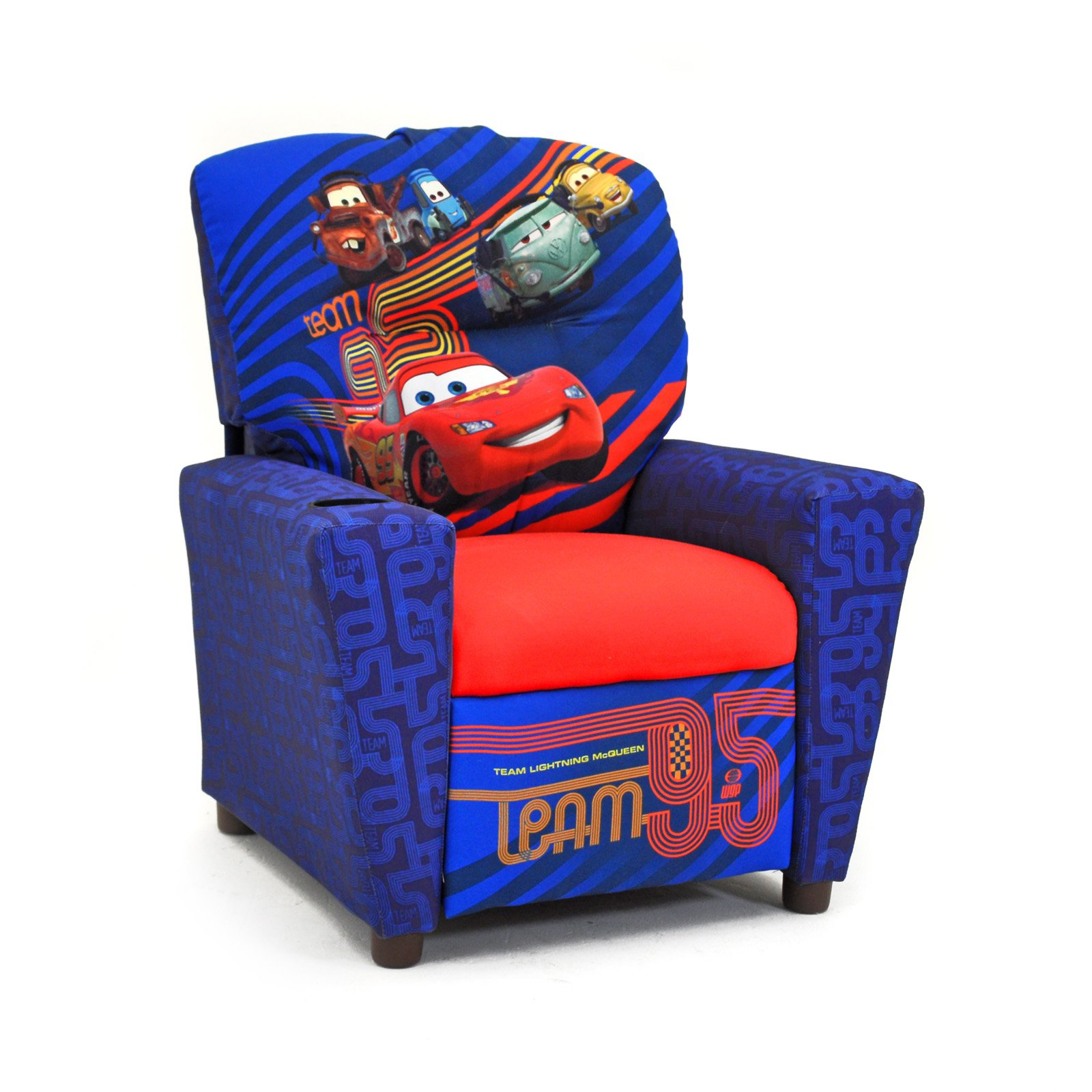 Disney Cars 2 Childrens Recliner