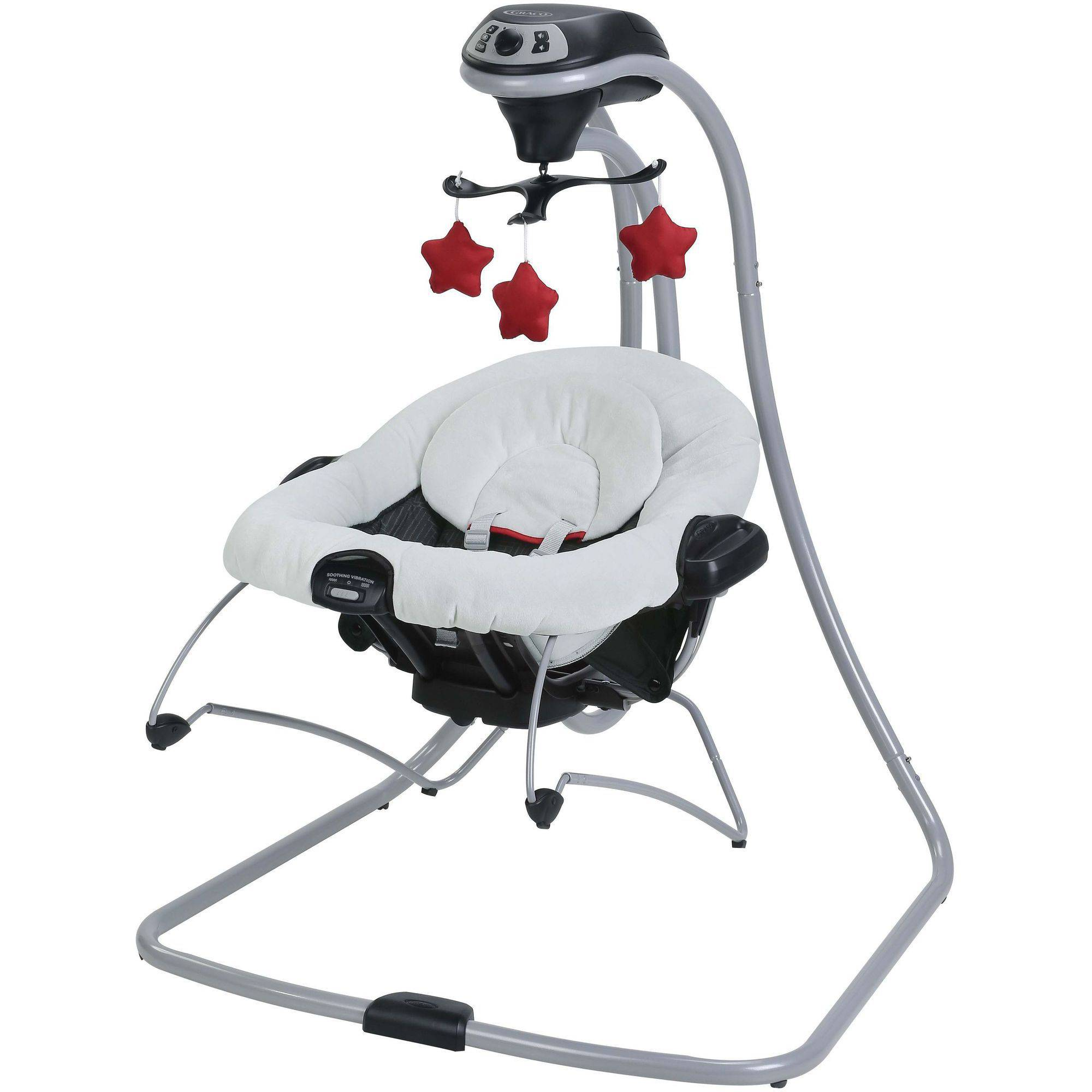 Graco Duet Connect Swing + Bouncer, Weave