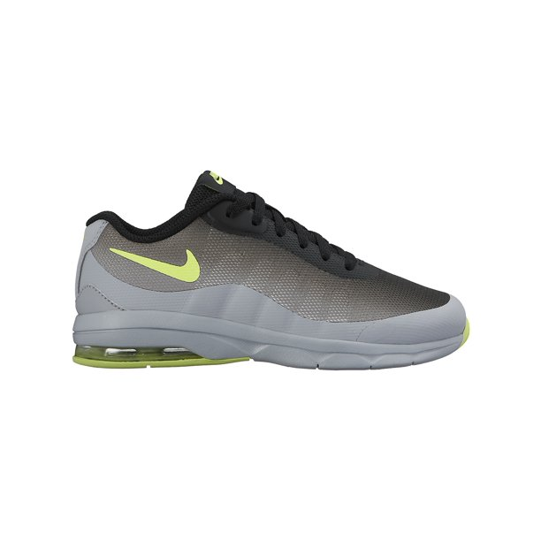 Nike Boy's Air Max Invigor (Ps) Wolf Grey/Black/Volt 13C