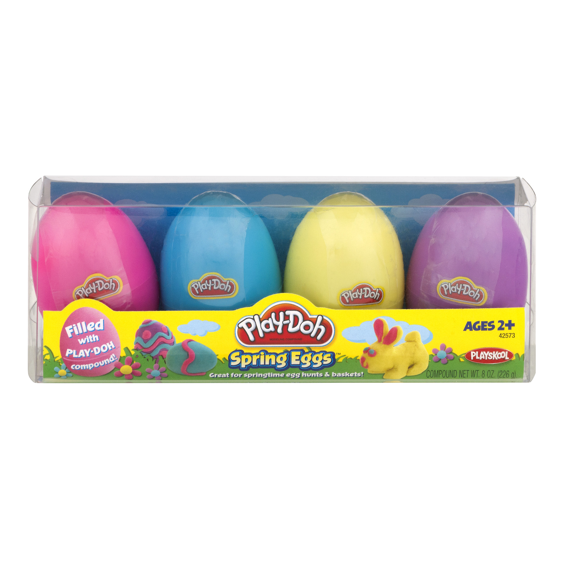 Play-Doh Eggs 4 Pack, 8 oz