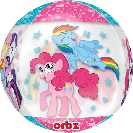 My Little Pony Clear See - Thru Orbz Balloon - My Little Pony Balloons