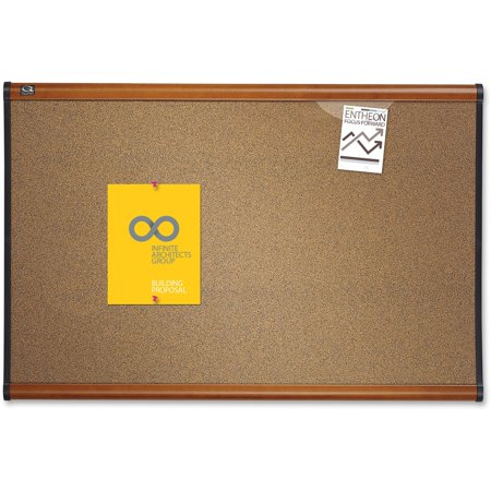 Quartet, QRTB243LC, Prestige Colored Cork Bulletin Boards, 1 Each