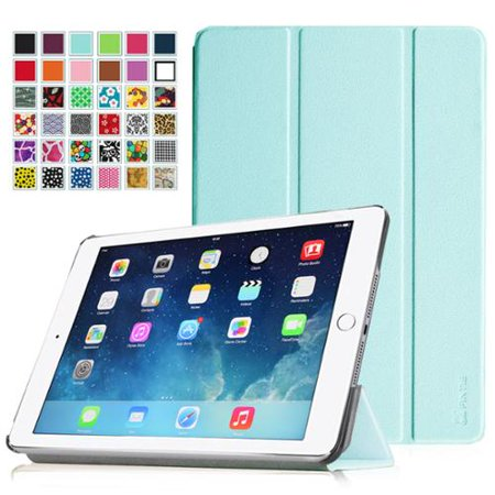 fintie ipad air 2 case - ultra slim stand case with auto wake / sleep feature for apple ipad air 2 (ipad 6),