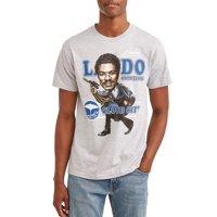 "Star Wars Men's ""Big Head Lando"" Short Sleeve Graphic T-Shirt, up to Size 2XL"