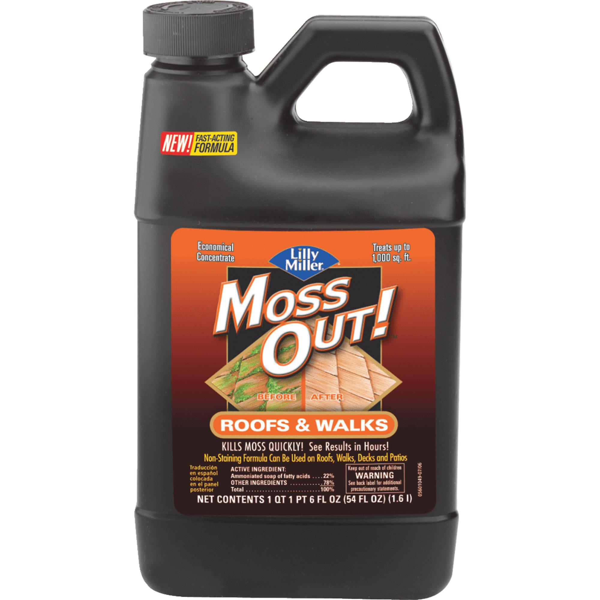 Lilly Miller MOSS OUT! Roof Moss & Algae Killer