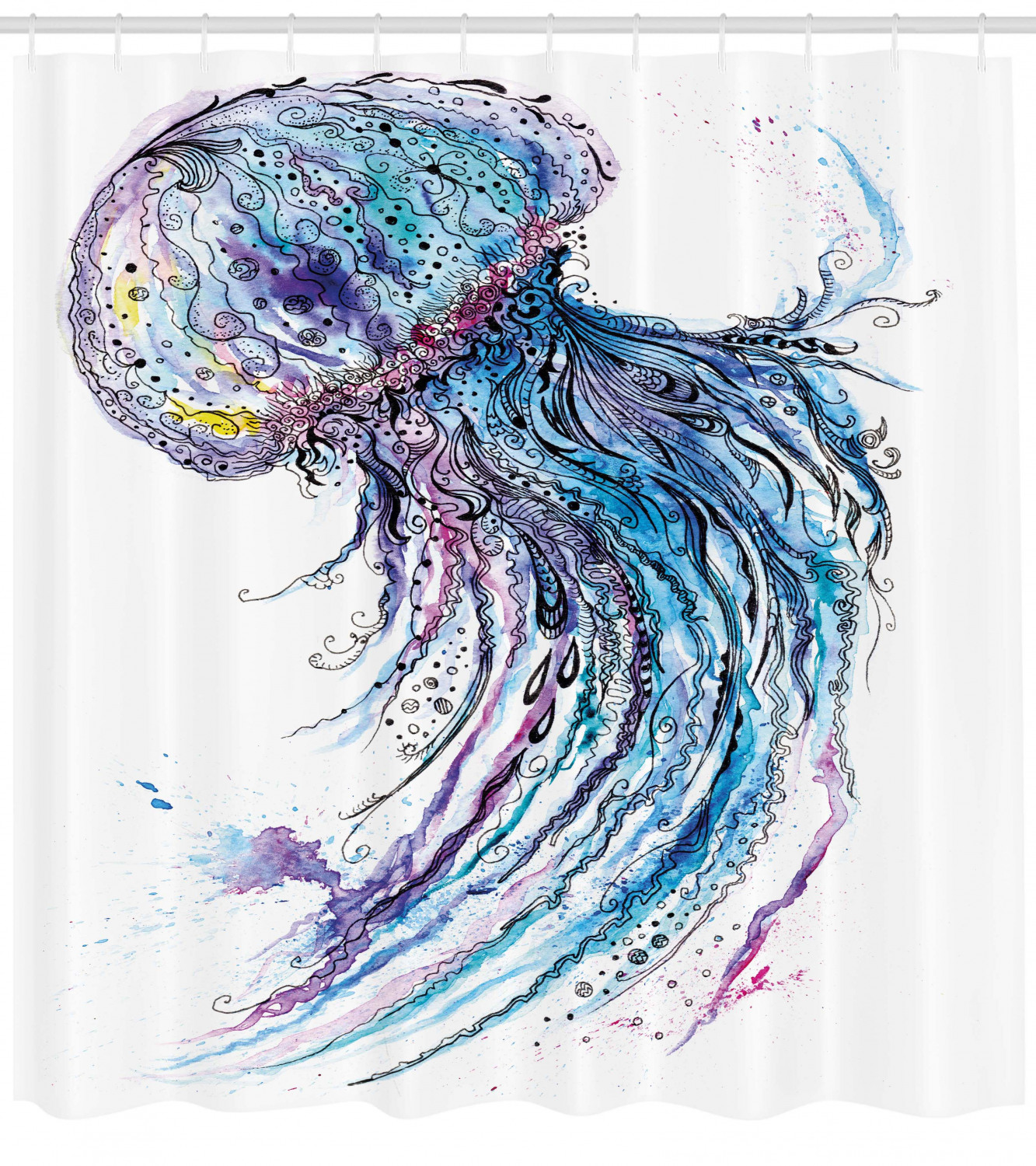 X-LARGE VIBRANT ART DECO STYLE OCEAN FISH WALL DECOR ART WITH WEATHER COATING