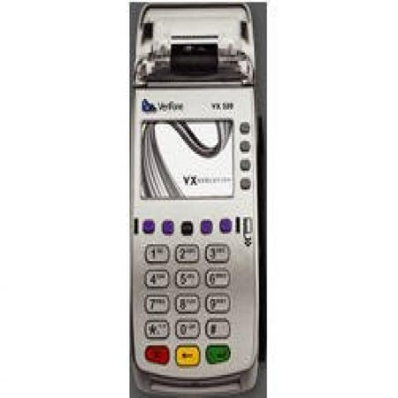 how to use credit card machine verifone vx520