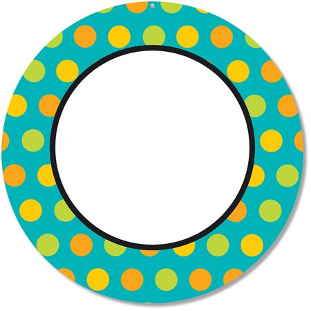 2 Sided Decoration (CD-188044 - Teal Appeal Two Sided Decoration by Carson Dellosa )