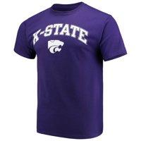 Men's Russell Athletic Purple Kansas State Wildcats Core Print T-Shirt