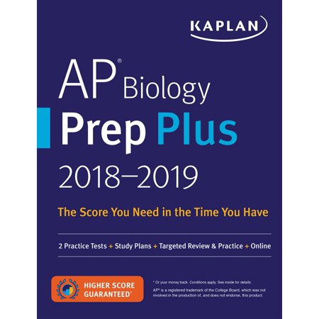 AP Biology Prep Plus 2018-2019 : 2 Practice Tests + Study Plans + Targeted Review & Practice +