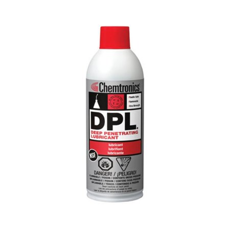 Chemtronics DPL Lube Job Electronics Lubricant, 11oz DPL Deep Penetrating Lubrication Best Penetrating Oil