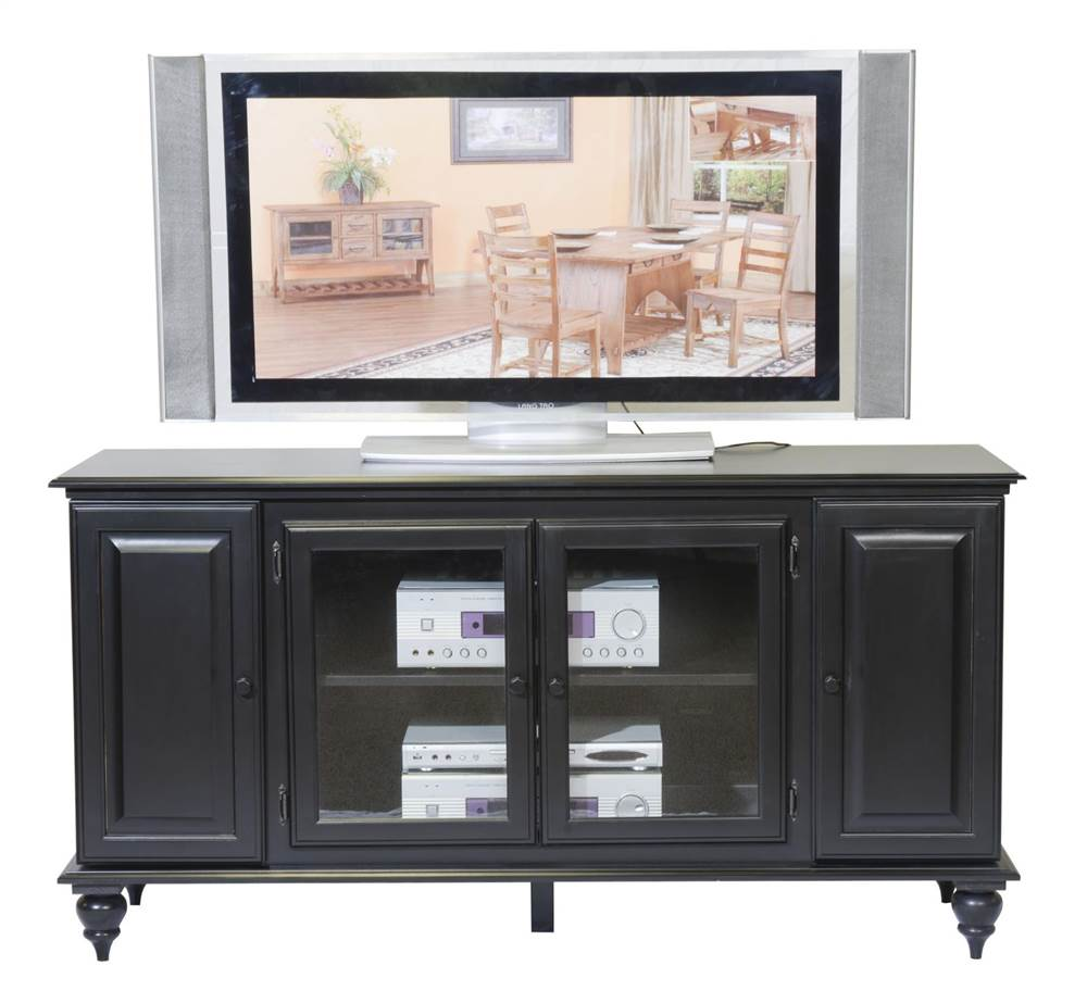 Kylan Entertainment Center in Black