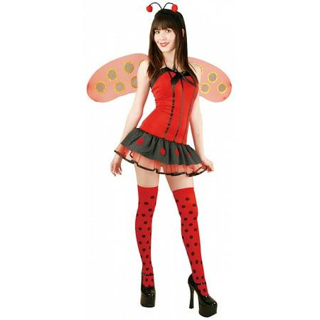 Lady Bug Adult Costume - Large