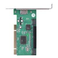 LYUMO PCI to 2 SATA Ports + 1 eSATA Port + 1 IDE Interface RAID Controller Card, PCI SATA Card, PCI SATA