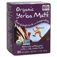 Mighty Yerba Mat, Organic Now Foods 24 Bag