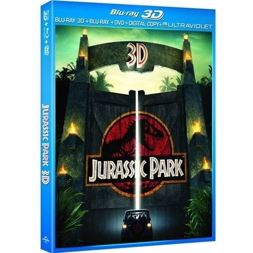 Jurassic Park (3D Blu-ray   DVD   Digital HD) (With INSTAWATCH) (Widescreen)
