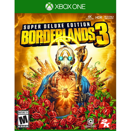 Borderlands 3 Super Deluxe Edition, 2K, Xbox One,