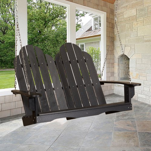 Little Cottage Classic Adirondack Porch Swing