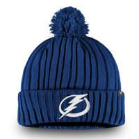 Tampa Bay Lightning Fanatics Branded Team Color Core Cuffed Knit Hat with Pom - Blue - OSFA