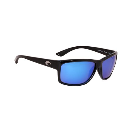 Costa Mag Bay Plastic Frame Blue Mirror Lens Unisex Sunglasses AA11OBMGLP
