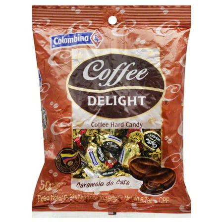 Colombina Coffee Delight Coffee Delight Hard Candy, 50 ea