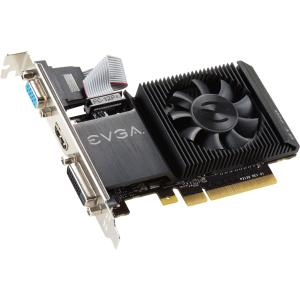 EVGA GeForce GT 710 Graphic Card - 954 MHz Core - 1 GB DD...