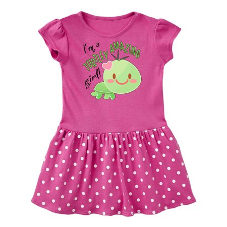Baby Dressed As Turtle (Im a Turtle-ly Amazing Girl- cute turtle Infant)