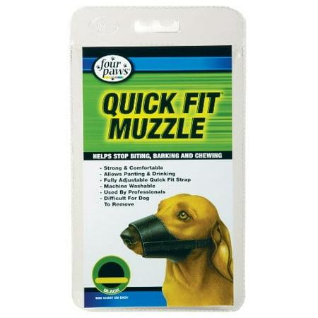 Four Paws Quick Fit Dog Muzzle, Size 2 Best Fit Dog Muzzle