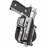 "FOBUS BELT HOLSTER FITS BELT WIDTH UP TO 2"" BLACK PLASTIC"