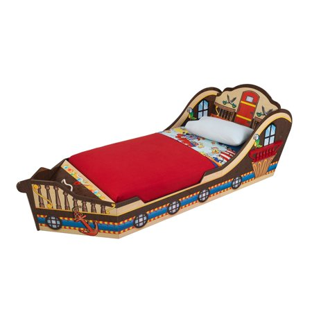 Bergamo Colonnade Toddler Bed Natural