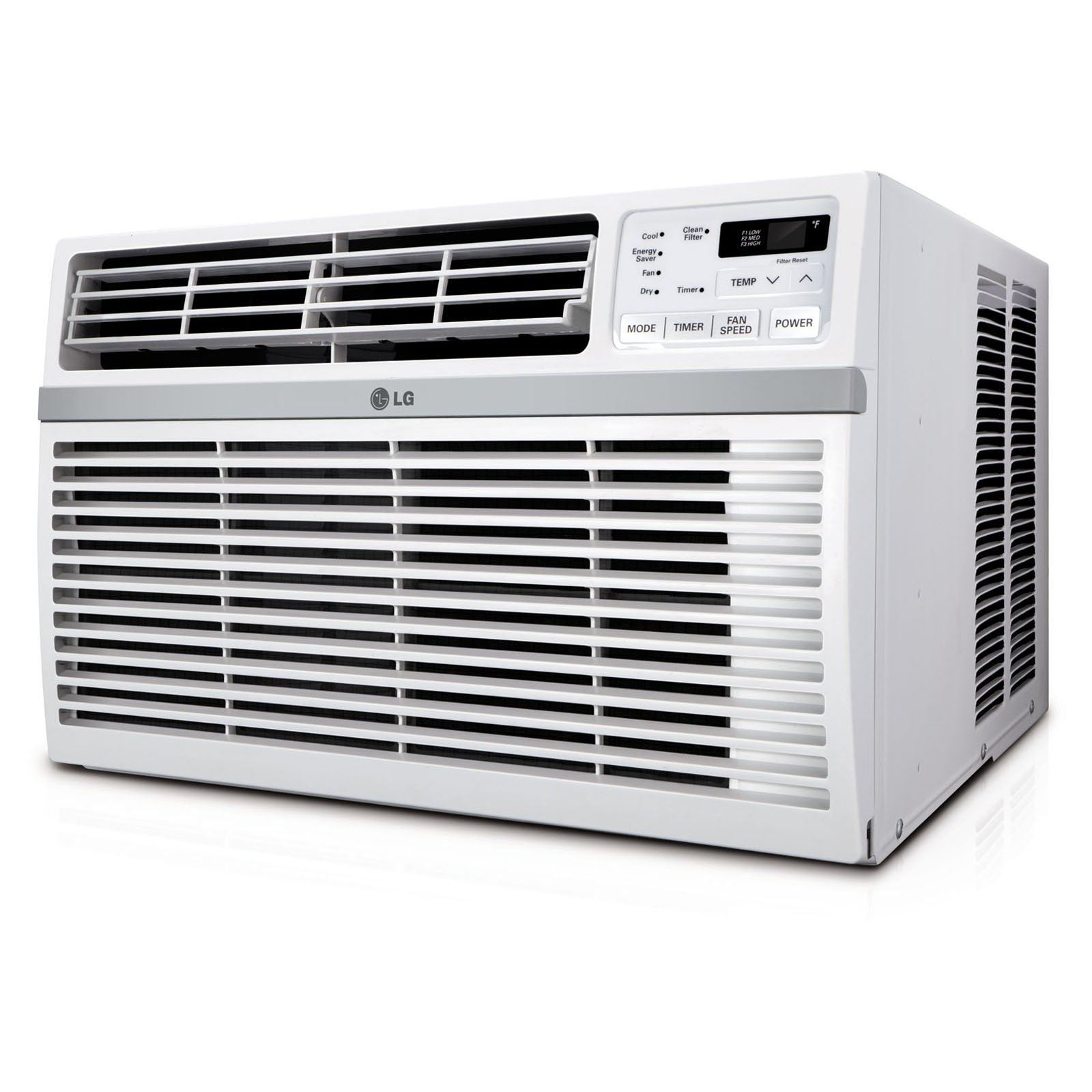 LG 18,000 BTU 230V Window-Mounted Air Conditioner with Remote Control