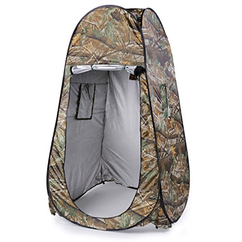 OUTAD Portable Waterproof Pop up Tent Camping Beach Toile...