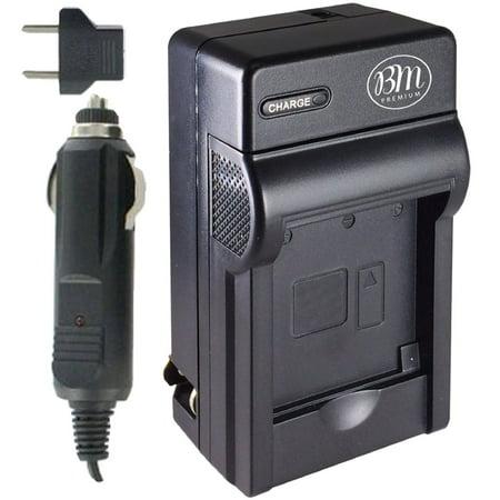 BM Premium 2-Pack of DMW-BLG10 Batteries and Battery Charger for Panasonic Lumix DC-ZS70, DMC-GX80, DMC-GX85, DMC-ZS60, DMC-ZS100, DMC-GF6, DMC-GX7K, DMC-LX100K Digital Camera - image 2 de 5
