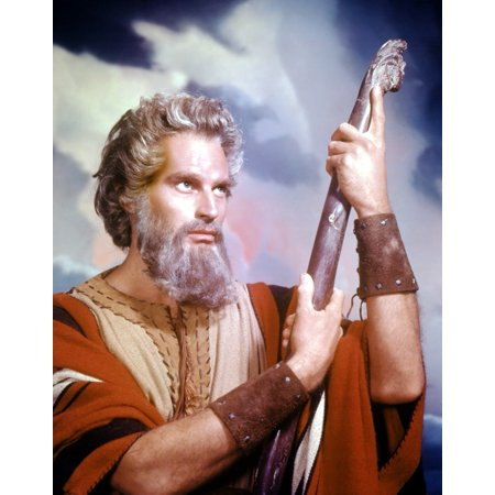 The Ten Commandments Stretched Canvas - (16 x 20)