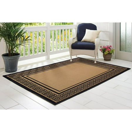 Greek Key Indoor/Outdoor Rug - Walmart.com - photo#5