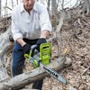 Sun Joe iON16CS 40-Volt iONMAX Cordless Brushless Chain Saw Kit - 16-Inch - W/ 4.0-Ah Battery and Charger
