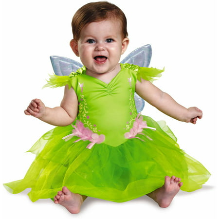 Tinker Bell Deluxe Infant Costume (Tinkerbell Costume For Toddler Girl)