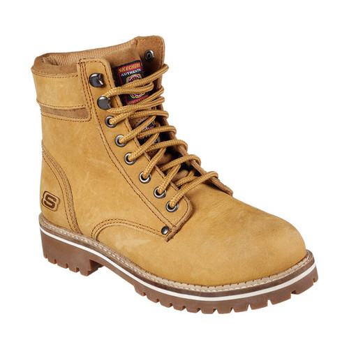 Skechers Work Women S Skechers Work Brooten Steel Toe Boot Walmart Com Walmart Com
