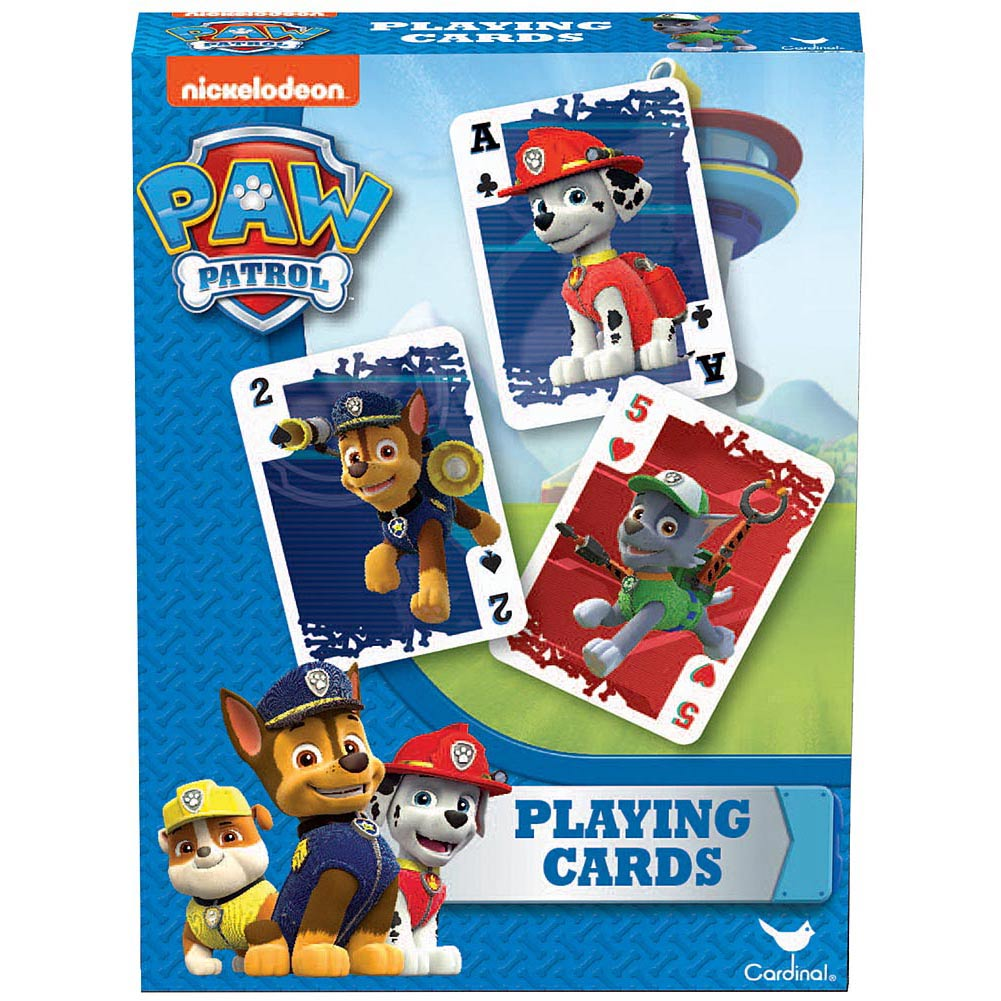 Paw Patrol Playing Card Deck,  Games by Cardinal